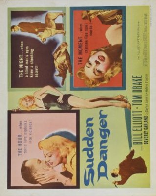 Sudden Danger movie poster (1955) poster MOV_6edc7479