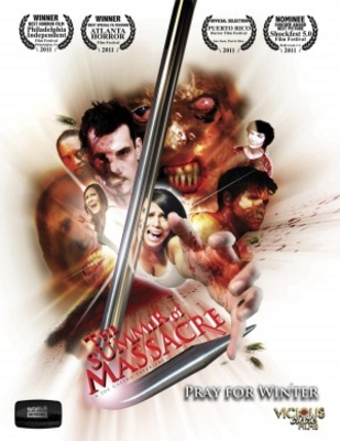 The Summer of Massacre movie poster (2011) poster MOV_6edd6902