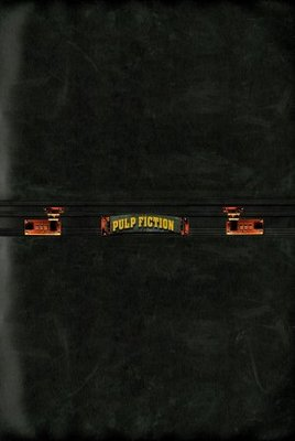 Pulp Fiction movie poster (1994) poster MOV_6ee6ee3e