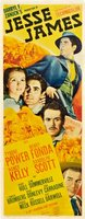 Jesse James movie poster (1939) picture MOV_6f248698