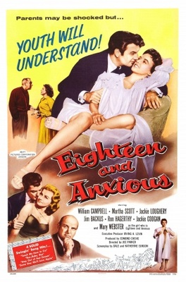 Eighteen and Anxious movie poster (1957) poster MOV_6f421d49