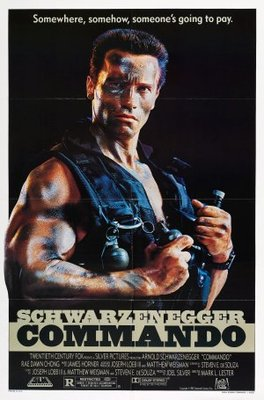 Commando movie poster (1985) poster MOV_6f630b99