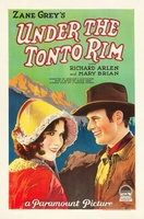 Under the Tonto Rim movie poster (1928) picture MOV_6f6fe555