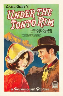Under the Tonto Rim movie poster (1928) poster MOV_6f6fe555