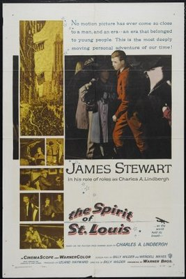 The Spirit of St. Louis movie poster (1957) poster MOV_6f730b17