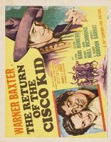 Return of the Cisco Kid movie poster (1939) picture MOV_cc9156d7