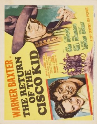 Return of the Cisco Kid movie poster (1939) poster MOV_6f73f2c1