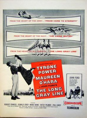 The Long Gray Line movie poster (1955) poster MOV_6f7a5ddb