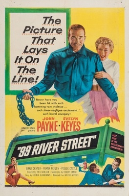 99 River Street movie poster (1953) poster MOV_6f94fc25