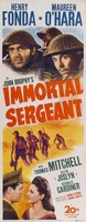 Immortal Sergeant movie poster (1943) picture MOV_6fb560d0