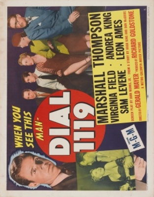 Dial 1119 movie poster (1950) poster MOV_6fbdbc76
