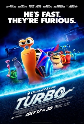 Turbo movie poster (2013) poster MOV_6fe9ac77