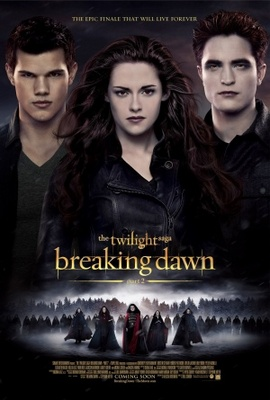The Twilight Saga: Breaking Dawn - Part 2 movie poster (2012) poster MOV_6ff647e5