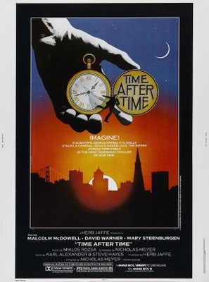 Time After Time movie poster (1979) poster MOV_6ffd29fc
