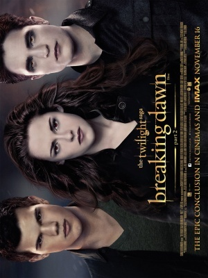 The Twilight Saga: Breaking Dawn - Part 2 movie poster (2012) poster MOV_701a1a9f