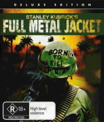 Full Metal Jacket movie poster (1987) poster MOV_70212373