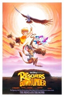 The Rescuers Down Under movie poster (1990) picture MOV_7023347d