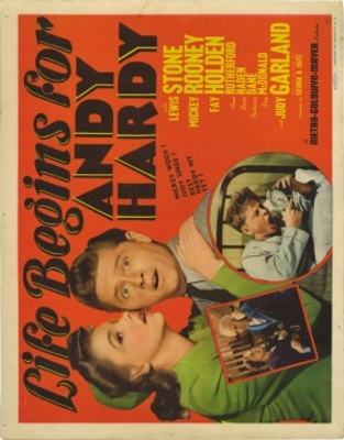 Life Begins for Andy Hardy movie poster (1941) poster MOV_702683a3