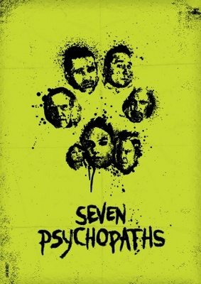 Seven Psychopaths movie poster (2012) poster MOV_703781ce