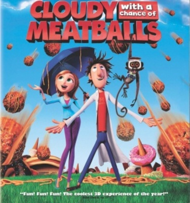 Cloudy with a Chance of Meatballs movie poster (2009) poster MOV_704efdf3