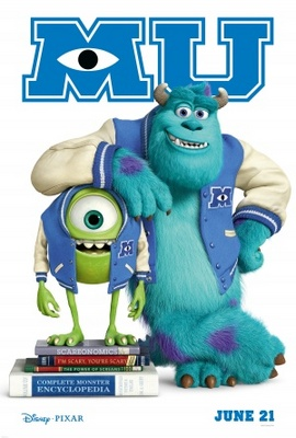 Monsters University movie poster (2013) poster MOV_7053db36