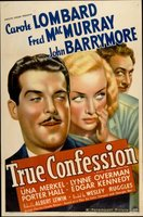 True Confession movie poster (1937) picture MOV_705b1b00