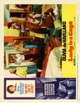 Lady in a Cage movie poster (1964) poster MOV_705d44be