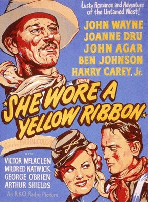 She Wore a Yellow Ribbon movie poster (1949) poster MOV_70816c55