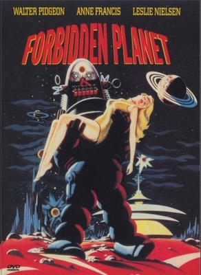 Forbidden Planet movie poster (1956) poster MOV_7082d2e2
