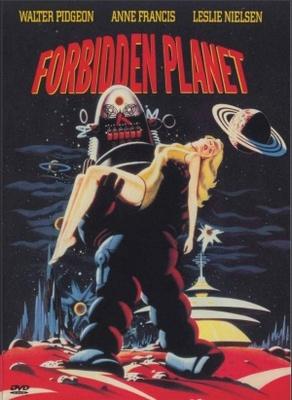 Forbidden Planet movie poster (1956) poster MOV_7082d2e2