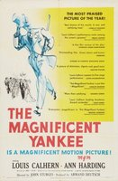 The Magnificent Yankee movie poster (1950) picture MOV_7084dc1c