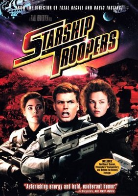 Starship Troopers movie poster (1997) poster MOV_7089724a