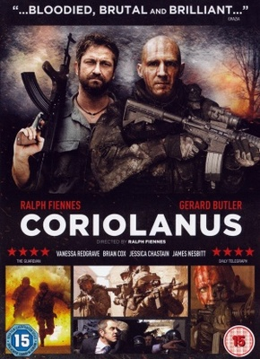 Coriolanus movie poster (2011) poster MOV_708c3a7f