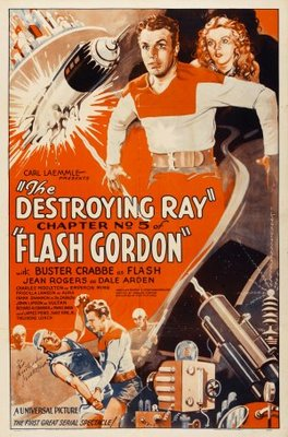 Flash Gordon movie poster (1936) poster MOV_708c4ade