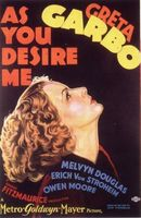 As You Desire Me movie poster (1932) picture MOV_708d6766