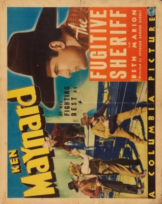 The Fugitive Sheriff movie poster (1936) poster MOV_7098ff22