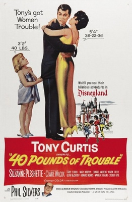 40 Pounds of Trouble movie poster (1962) poster MOV_70be859b
