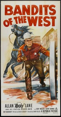 Bandits of the West movie poster (1953) poster MOV_70c64b66