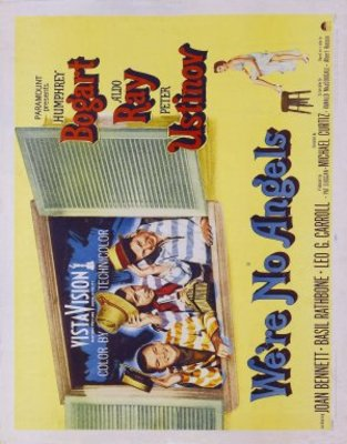 We're No Angels movie poster (1955) poster MOV_70c6b605