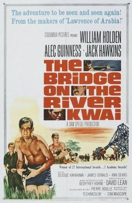 The Bridge on the River Kwai movie poster (1957) poster MOV_70e578c9