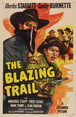 The Blazing Trail movie poster (1949) poster MOV_70e7f28f