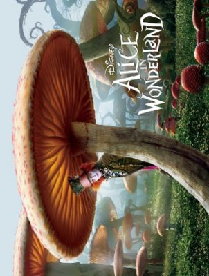 Alice in Wonderland movie poster (2010) poster MOV_70ee8c33