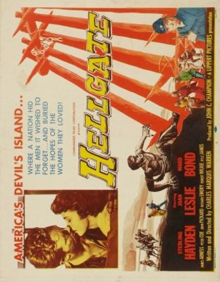 Hellgate movie poster (1952) poster MOV_711684f9