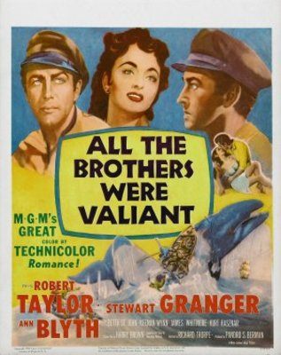 All the Brothers Were Valiant movie poster (1953) poster MOV_71436a0d