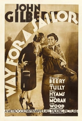 Way for a Sailor movie poster (1930) poster MOV_7149a9d3