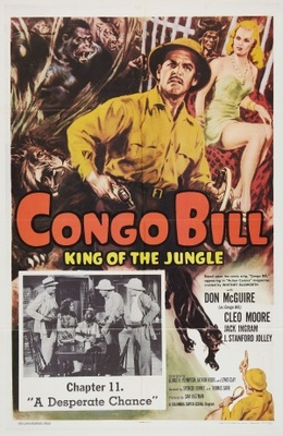 Congo Bill movie poster (1948) poster MOV_717044f8