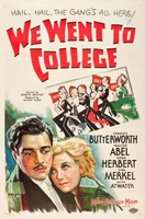 We Went to College movie poster (1936) picture MOV_7175ee3c
