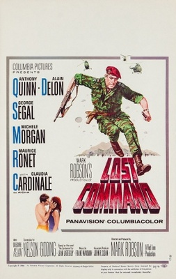 Lost Command movie poster (1966) poster MOV_717a884d