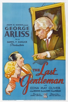 The Last Gentleman movie poster (1934) poster MOV_71948a7c