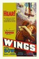 Wings movie poster (1927) picture MOV_7198b633
